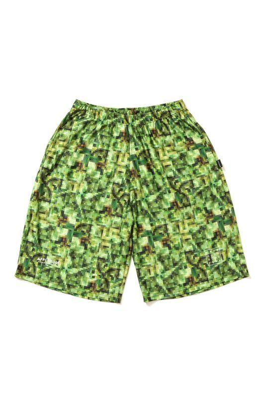 画像1: 【APPLEBUM】Pixel Basketball Mesh Short Pants