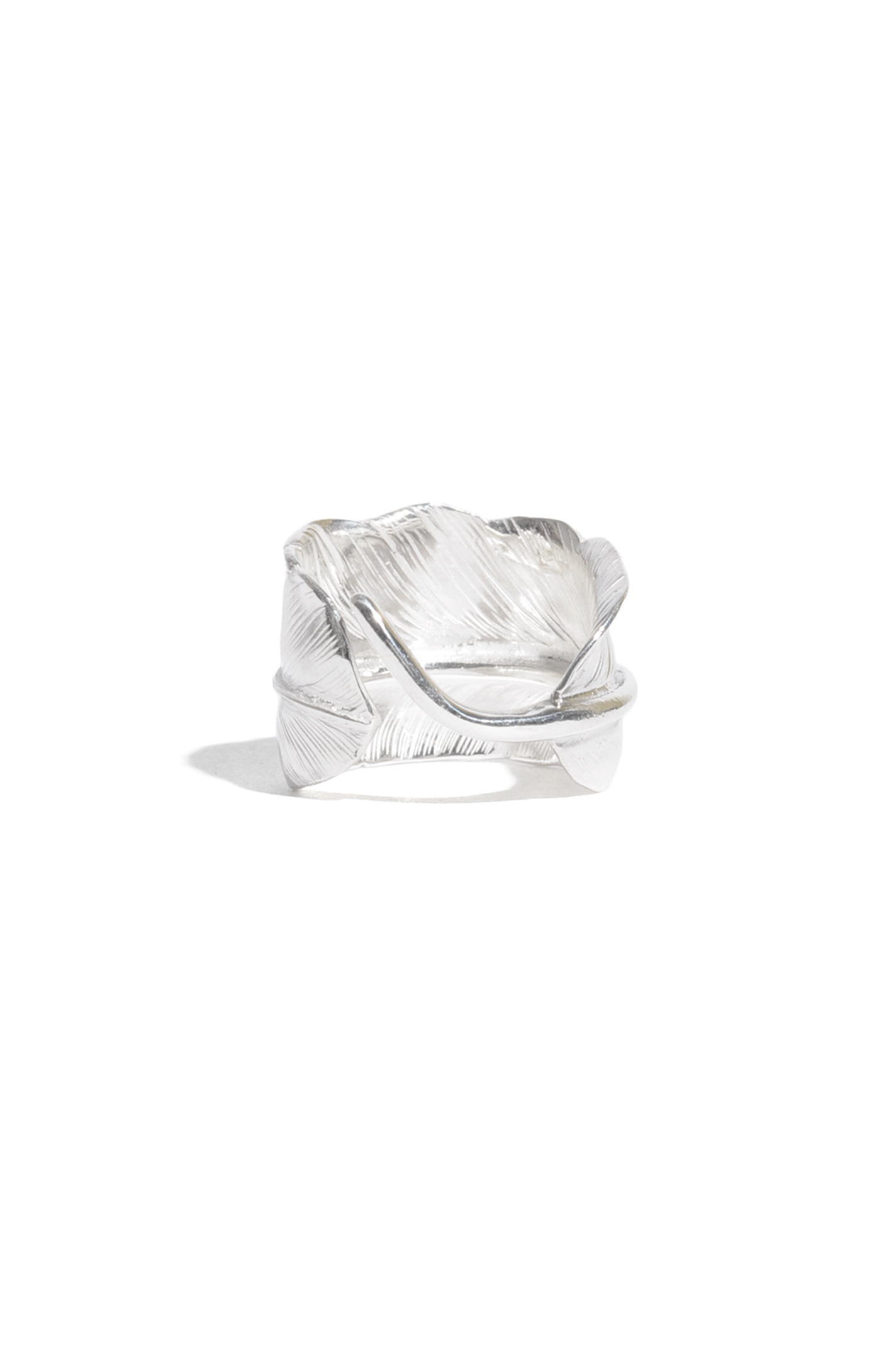 画像4: 【LARRY SMITH】 PLAIN FEATHER RING