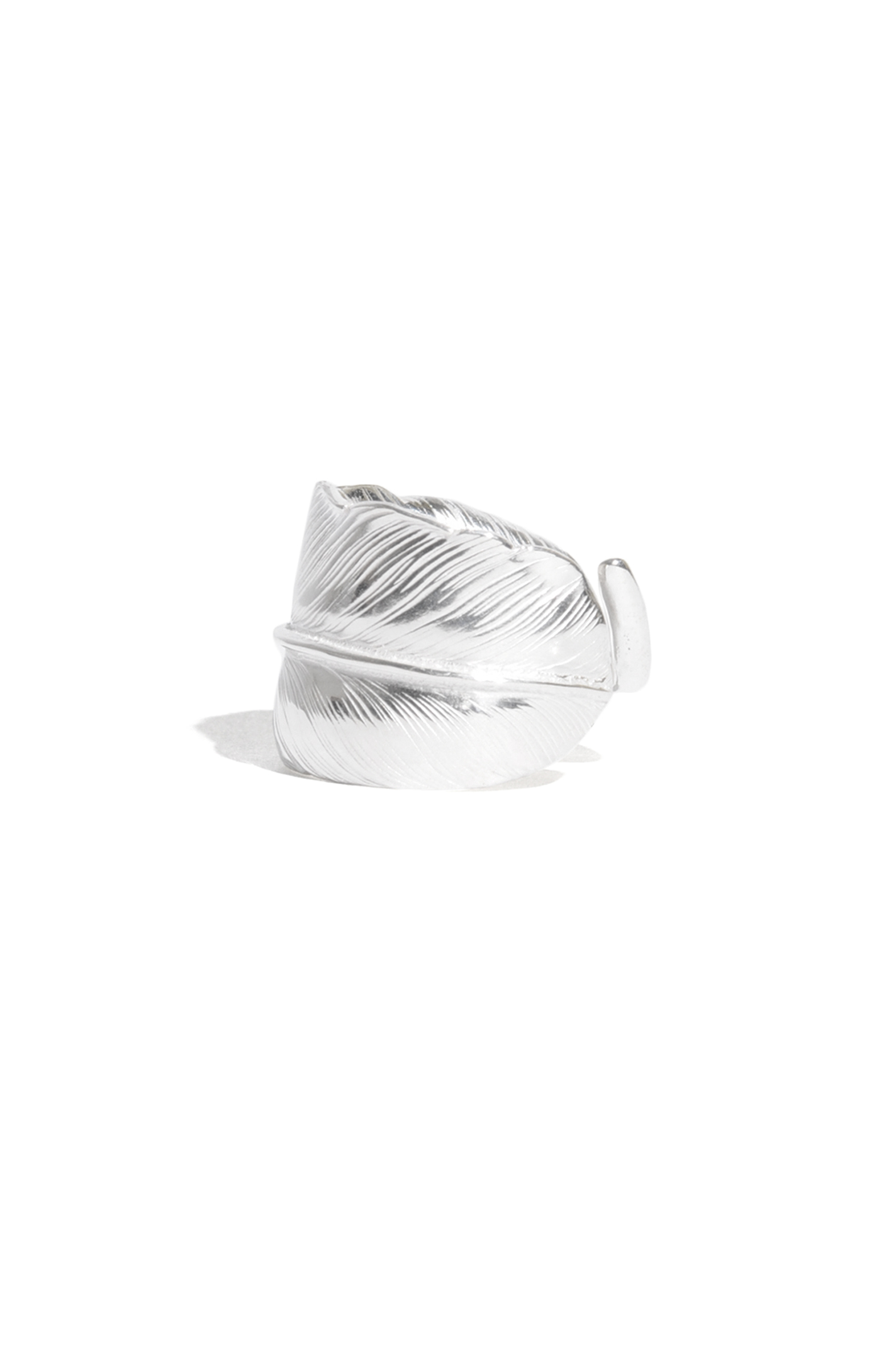 画像3: 【LARRY SMITH】 PLAIN FEATHER RING