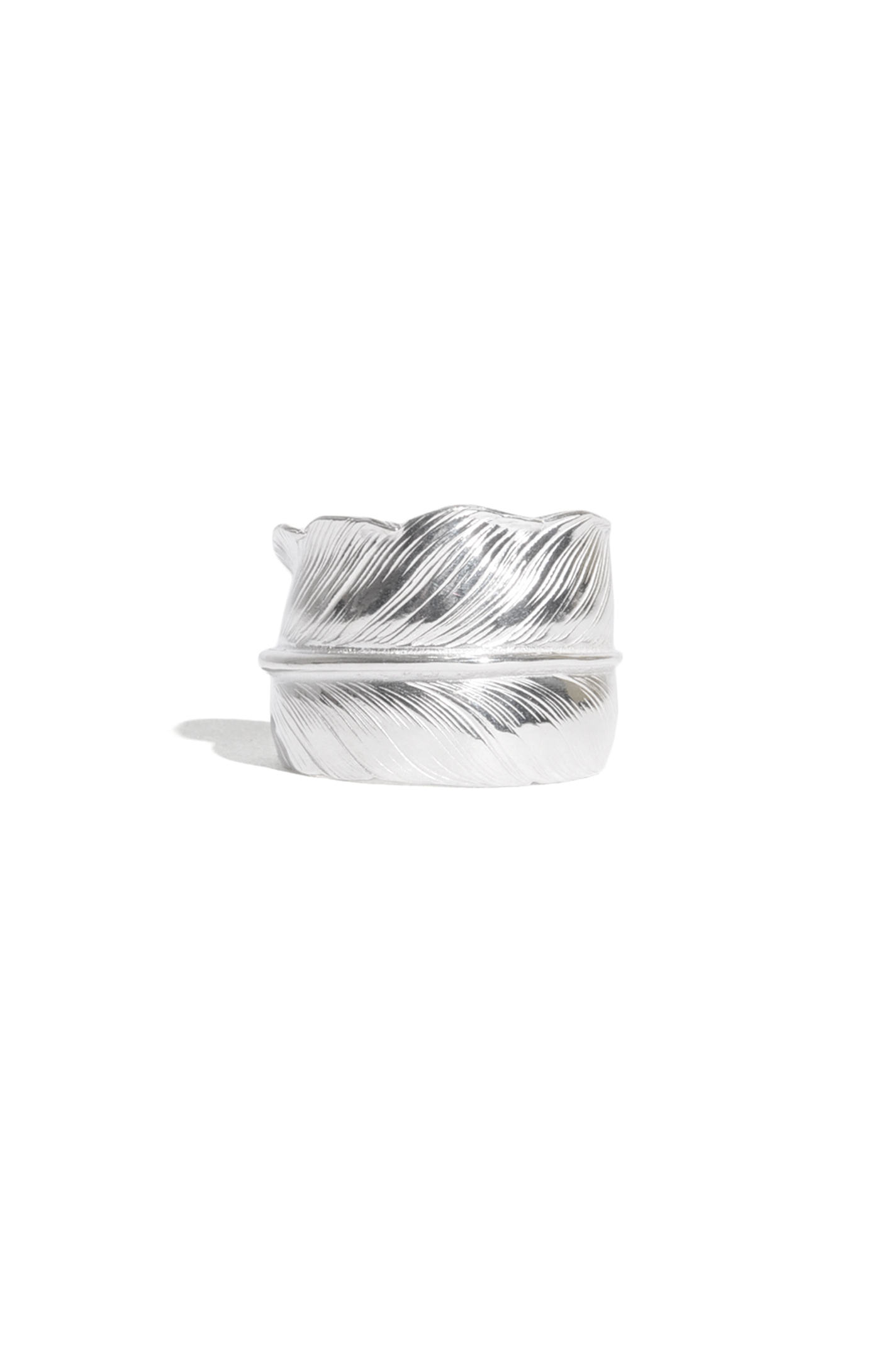 画像2: 【LARRY SMITH】 PLAIN FEATHER RING