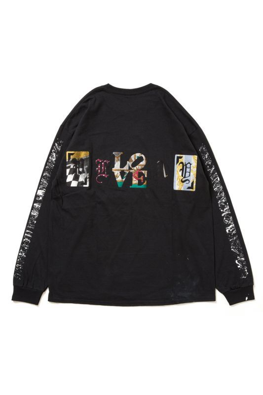 "画像1: 【APPLEBUM】PLAY for APPLEBUM ""PLAY LOVE"" SIDE SPLASH LONG SLEEVE"