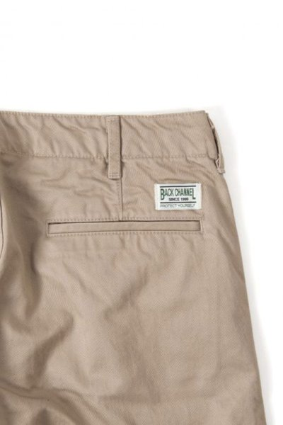 画像1: 【Back Channel】CHINO SHORTS(REGULAR FIT)