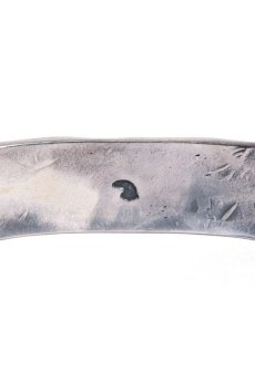 画像3: LARRY SMITH / 18K EAGLE FACE STAMP BANGLE (3)