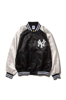 画像2: 【Majestic Athletic】Yankees Right Satin JACKET (2)