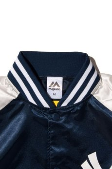 画像4: 【Majestic Athletic】Yankees Right Satin JACKET (4)