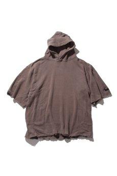画像3: 【VOTE MAKE NEW CLOTHES】 WIDE SLEEVE HARF HOODIE (3)