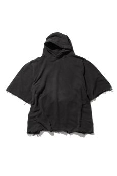 画像2: 【VOTE MAKE NEW CLOTHES】 WIDE SLEEVE HARF HOODIE (2)