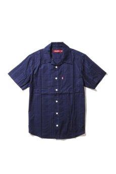 画像2: 【HIDEANDSEEK】Open Collar S/S Shirts (2)