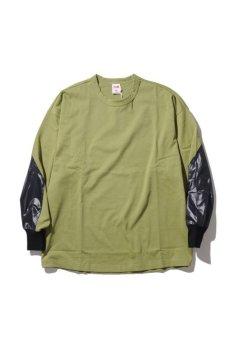 画像1: 【VOTE MAKE NEW CLOTHES】BLACK HAND L/S TEE (1)