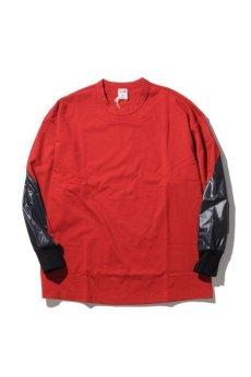画像2: 【VOTE MAKE NEW CLOTHES】BLACK HAND L/S TEE (2)
