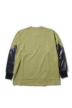 画像3: 【VOTE MAKE NEW CLOTHES】BLACK HAND L/S TEE (3)