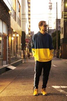 画像8: 【VOTE MAKE NEW CLOTHES】2-TONE L/S HOODIE (8)
