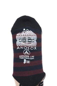 画像4: 【ANDSOX】PILE LONG -ANDSOX- (4)