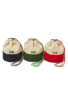 "画像1: 【VOTE MAKE NEW CLOTHES】""KINCHAKU""CANVAS POUCH S (1)"