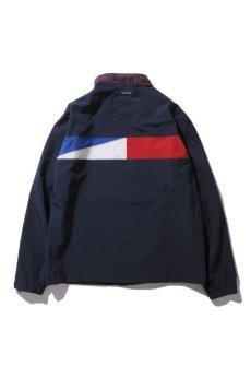 画像2: 【Nautica】 NYLON JACKET Tricolor (2)