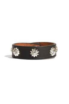 画像4: LARRY SMITH / 5 SHELL CONCHOS LEATHER BRACELET (4)