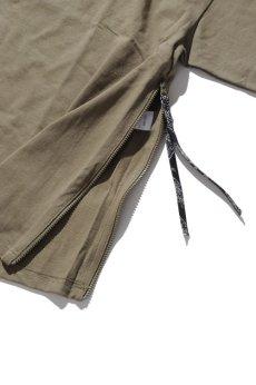 画像5: 【VOTE MAKE NEW CLOTHES】SIDE ZIP TEE (5)