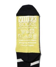 画像6: 【VIIIVX SOX】VIIIVX SOCKS BODER (6)