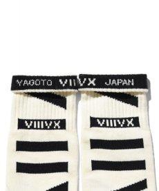 画像3: 【VIIIVX SOX】VIIIVX SOCKS BODER (3)