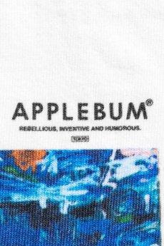 """画像4: APPLEBUM / """"Sunset Playground"""" Painted by RYUSUKE SANO T-shirt (4)"""