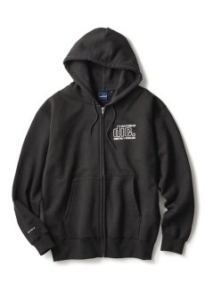 "画像1: INTERBREED / disk union x INTERBREED ""Culture Lovers Zip Hoodie"" (1)"