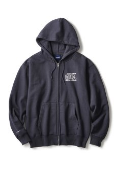 "画像3: INTERBREED / disk union x INTERBREED ""Culture Lovers Zip Hoodie"" (3)"