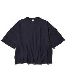 画像1: VOTE MAKE NEW CLOTHES / P.E. TEE -NAVY- (1)