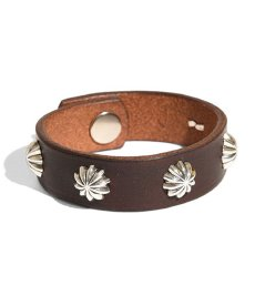 画像3: LARRY SMITH / 5 SHELL CONCHOS LEATHER BRACELET (3)