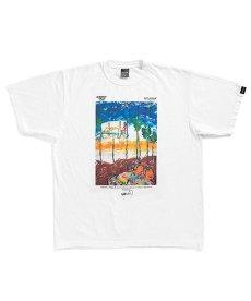 """画像1: APPLEBUM / """"Sunset Playground"""" Painted by RYUSUKE SANO T-shirt (1)"""