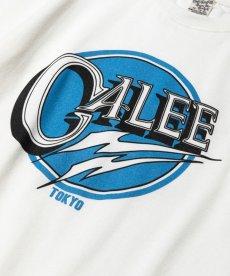 画像2: CALEE / Calee logo t-shirt -WHITE- (2)