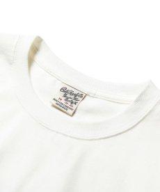 画像3: CALEE / California flowers t-shirt -WHITE- (3)