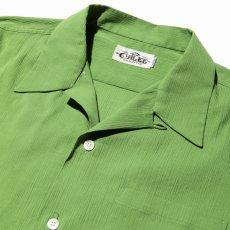 画像3: CALEE / Japan traditional embroidery S/S shirt -Lt GREEN- (3)