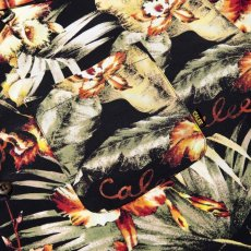 画像4: CALEE / Hawaiian S/S shirt -BLACK- (4)