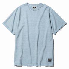 画像2: CALEE / Binder neck Maria t-shirt -Lt BLUE- (2)
