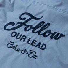 画像2: CALEE / T/C Broad S/S work shirt -Lt Blue- (2)