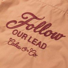 画像2: CALEE / T/C Broad S/S work shirt -Lt Pink- (2)