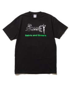 画像3:  Saints & Sinners / GHOST & MOONEY LOGO S/S TEE (3)