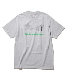 画像2:  Saints & Sinners / GHOST & MOONEY LOGO S/S TEE (2)