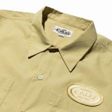 画像4: CALEE / T/C Broad S/S work shirt -Lt Yellow- (4)