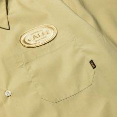 画像3: CALEE / T/C Broad S/S work shirt -Lt Yellow- (3)