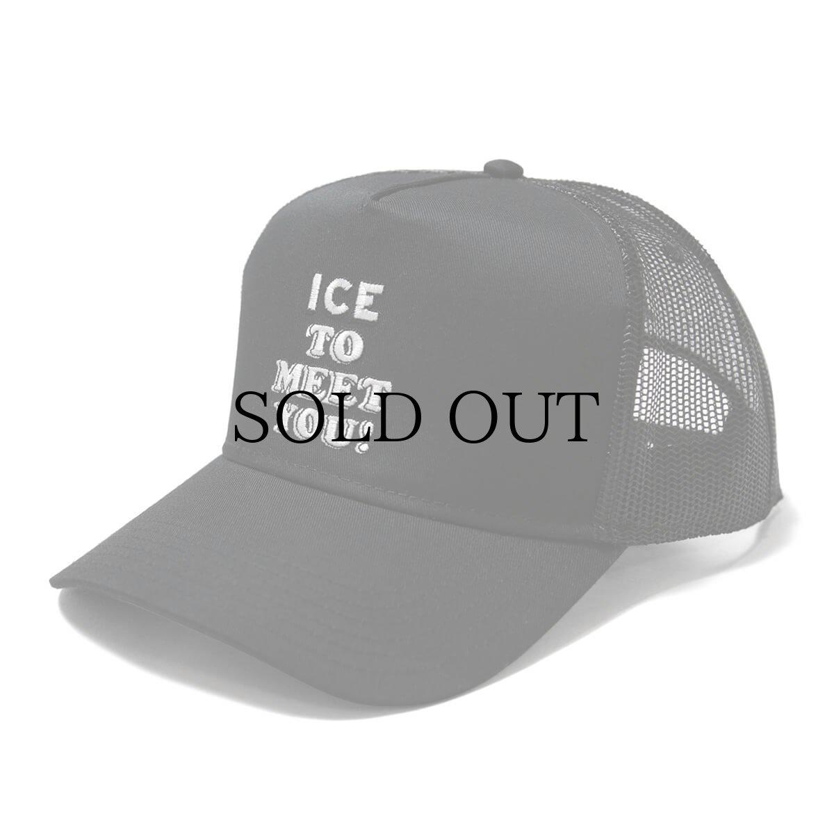 画像1: HAIGHT / ICE TOO MEET YOU TUCKER MESH CAP (1)