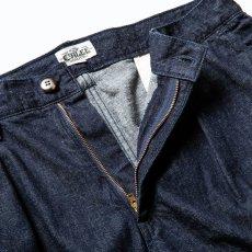 画像4: CALEE / More yarn denim trouser -INDIGOBLUE- (4)
