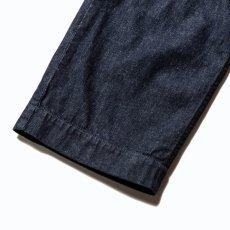 画像7: CALEE / More yarn denim trouser -INDIGOBLUE- (7)