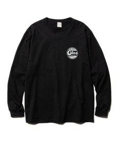 画像2: CALEE / Sign board print L/S t-shirt -BLACK- (2)