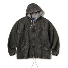 画像2: INTERBREED / Acid Washed Hood Jacket (2)