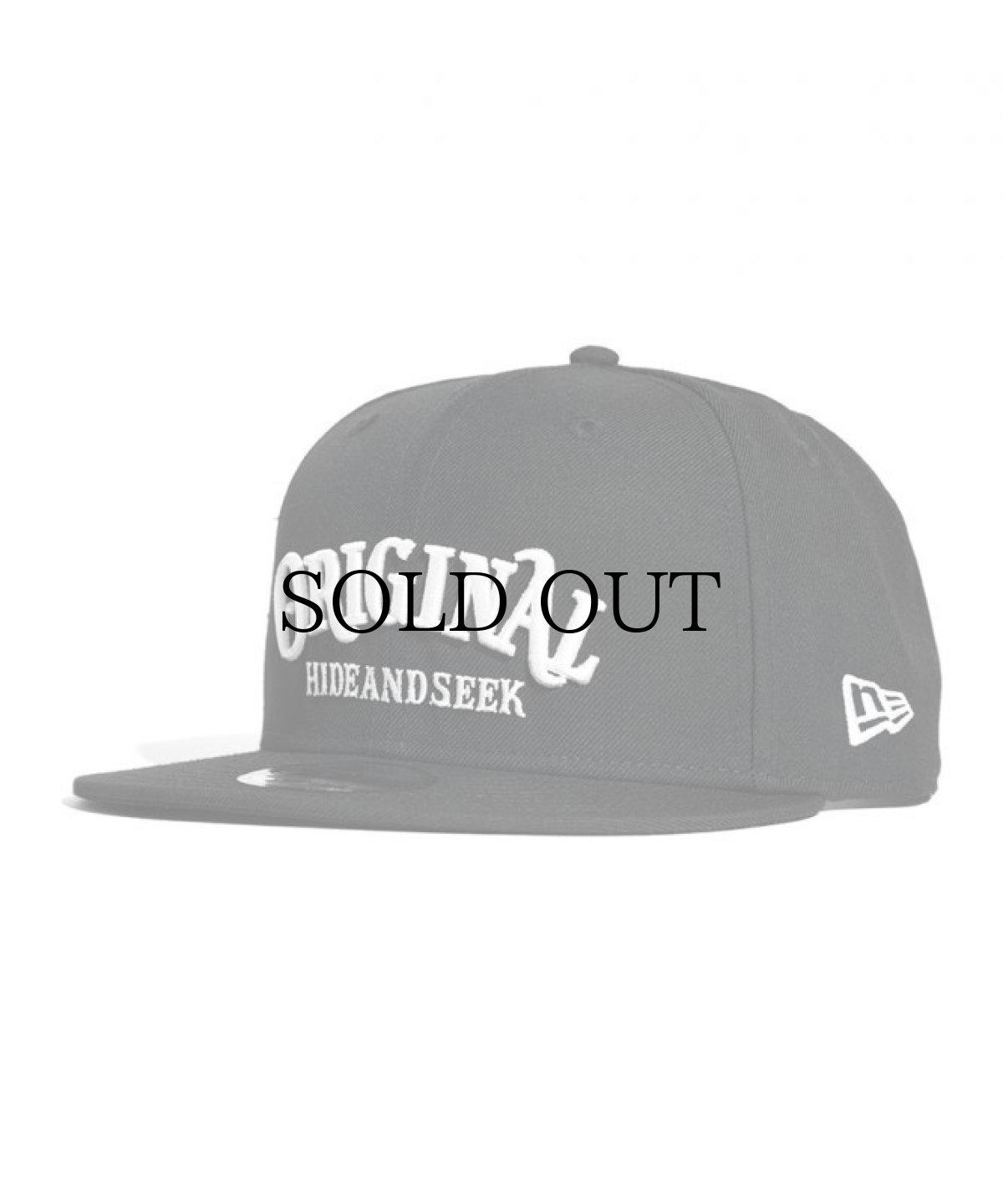画像1: HIDEANDSEEK / HIDEANDSEEKxTENDERLOIN Baseball CAP(NEW ERA) (1)