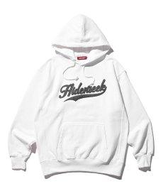 画像2: HIDEANDSEEK / Hooded College Sweat Shirt (2)