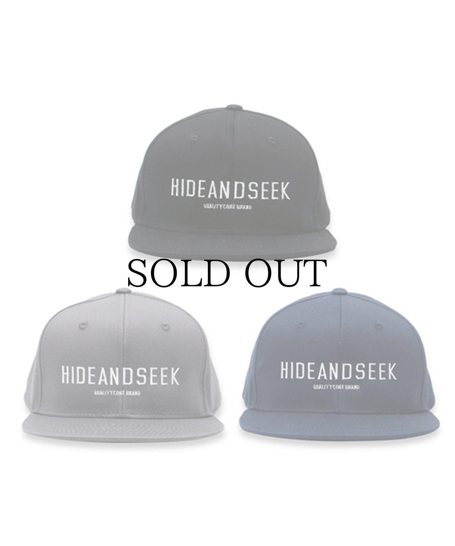 画像1: HIDEANDSEEK / Logo Baseball CAP(21ss) (1)