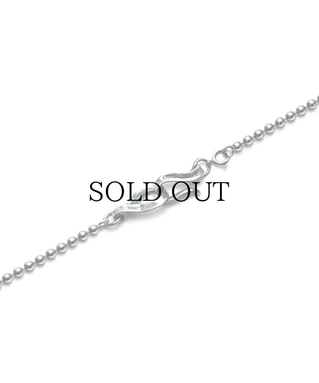 画像1: ArgentGleam / Oxidized Silver Chain(60cm) - Ball- (1)