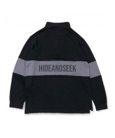 画像3: HIDEANDSEEK / Zip Highneck Sweat Shirt (3)